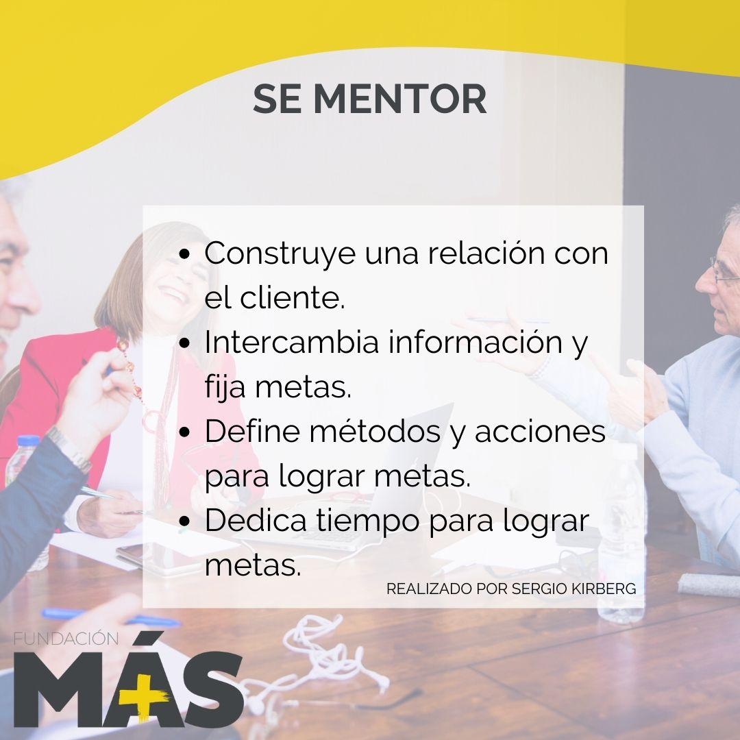 Sé mentor