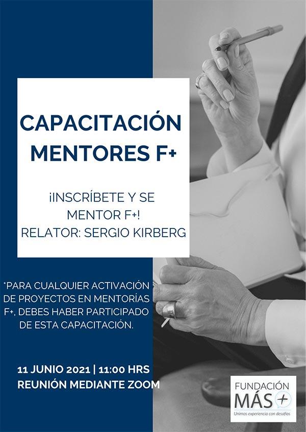 Capacitación mentores fundación mas
